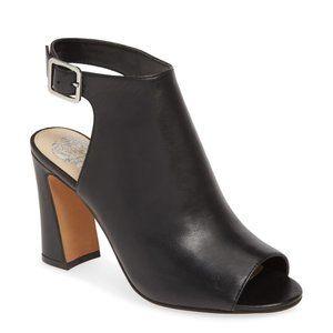 Vince Camuto Cellia Leather sandal black heel